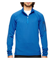 Custom Marmot Mens Stretch Fleece Half-Zip