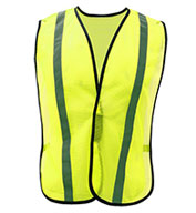 Custom Adult Non-ANSI Safety Vest with Elastic