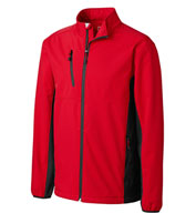 Custom Clique Mens Narvik Colorblock Softshell