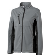 Custom Clique Ladies Narvik Colorblock Softshell
