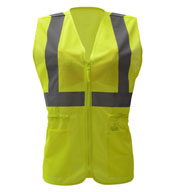 Custom GSS Safety Ladies Economy Mesh Vest