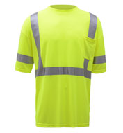 Custom GSS Safety Class 3 Moisture Wicking T-Shirt