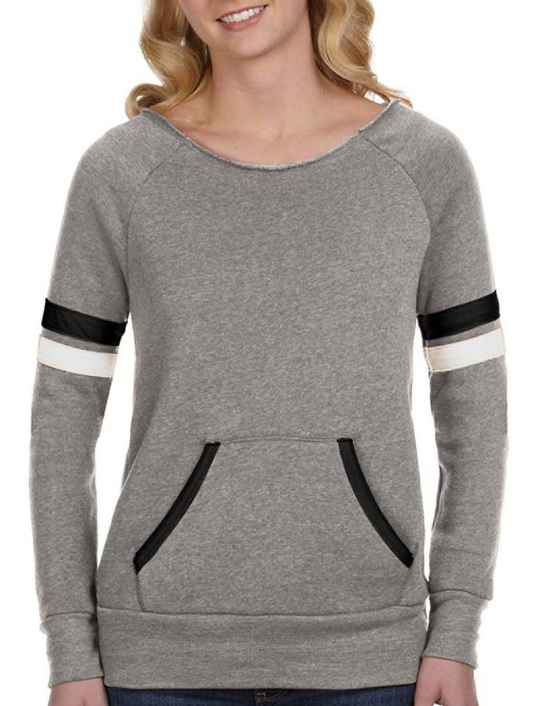 Alternative Apparel Womens Maniac Sport Eco-Fleece Sweatshirt