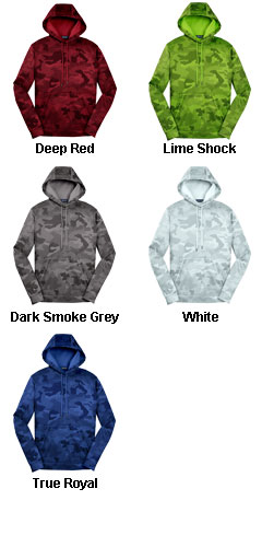 CamoHex Fleece Hooded Pullover - All Colors
