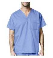 Custom Wonder Wink® WonderWORK Unisex V-Neck Scrub Top