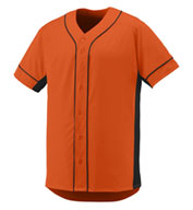 Custom Augusta Adult Full Button Slugger Jersey
