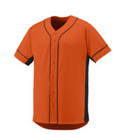 Custom Youth Full Button Slugger Jersey