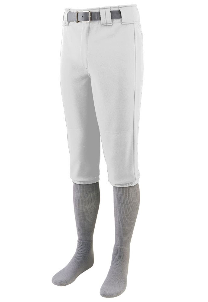 Adult Knee Length Baseball Pant