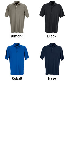 Greg Norman Play Micro Lux Solid Polo - All Colors