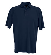 Custom Greg Norman Mens Play Micro Lux Solid Polo