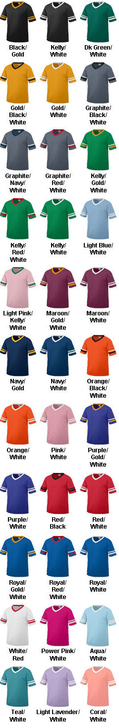 Youth Sleeve Stripe Jersey - All Colors