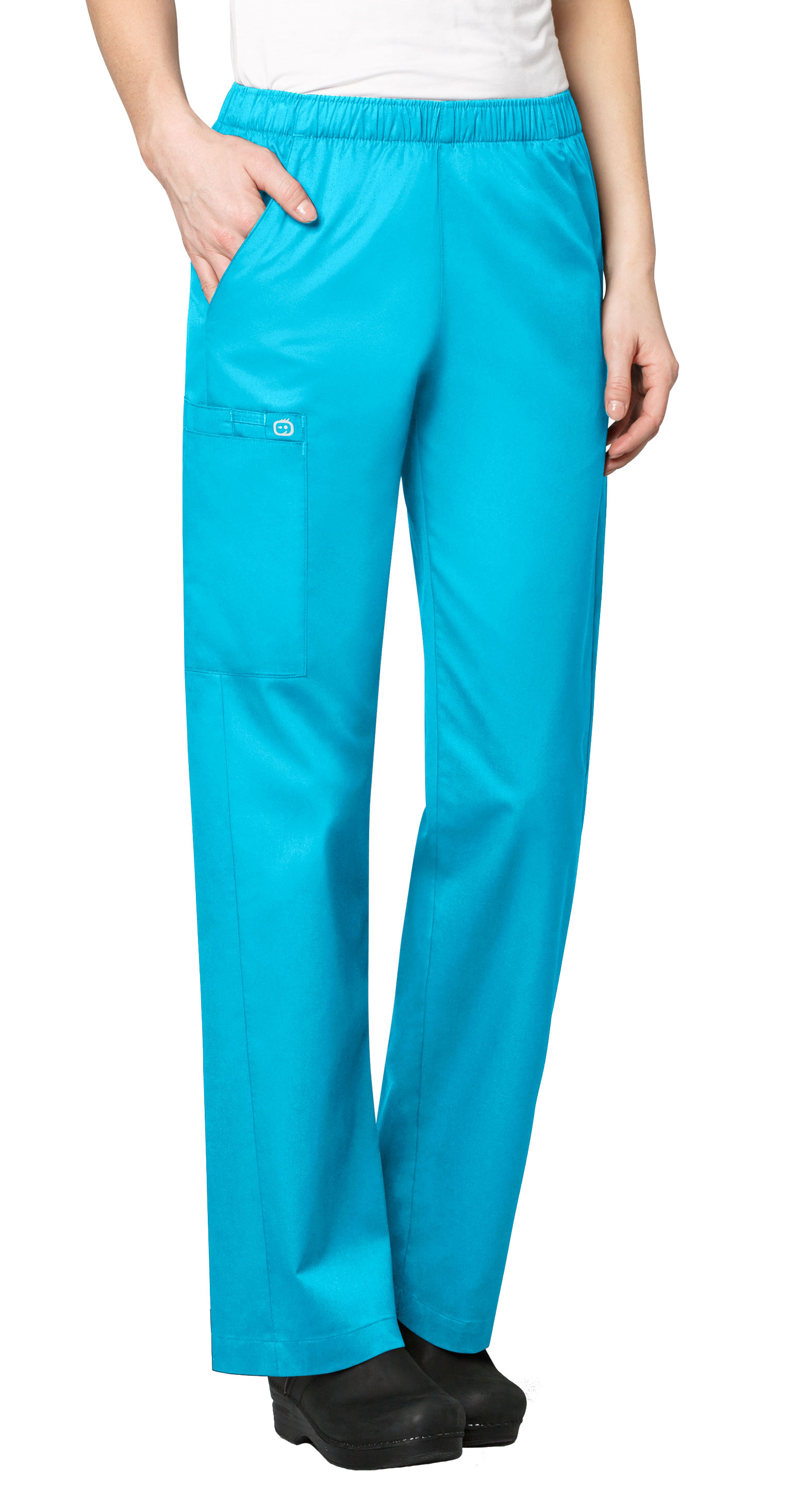 Womens Elastic Waist Pant by WonderWink®