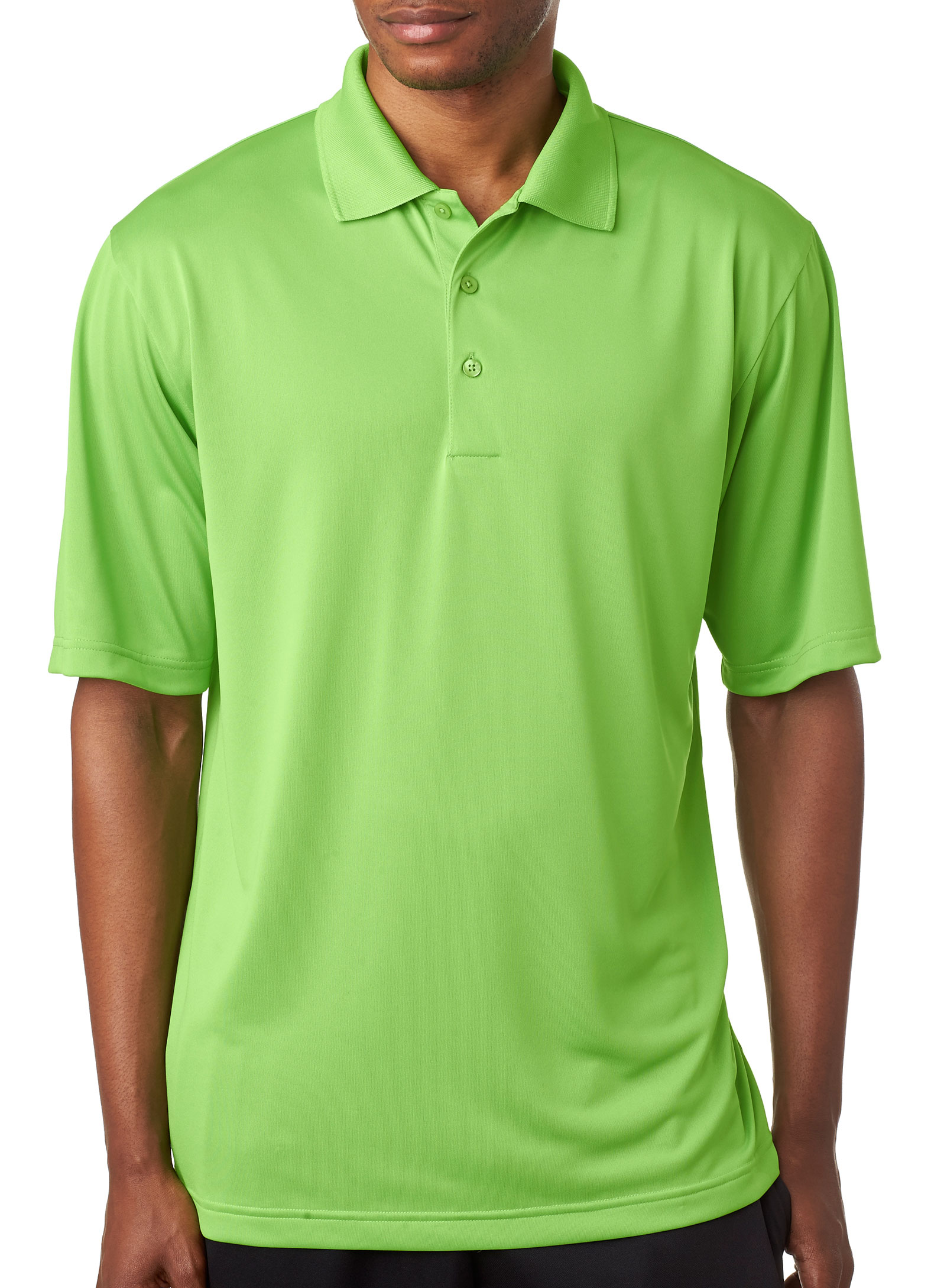 UltaClub Mens Cool & Dry 8 Star Elite Performance Polo