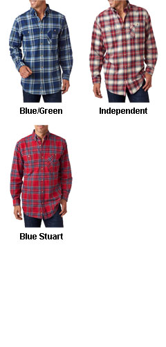 Backpacker Mens Yarn-Dyed Flannel Shirt - All Colors