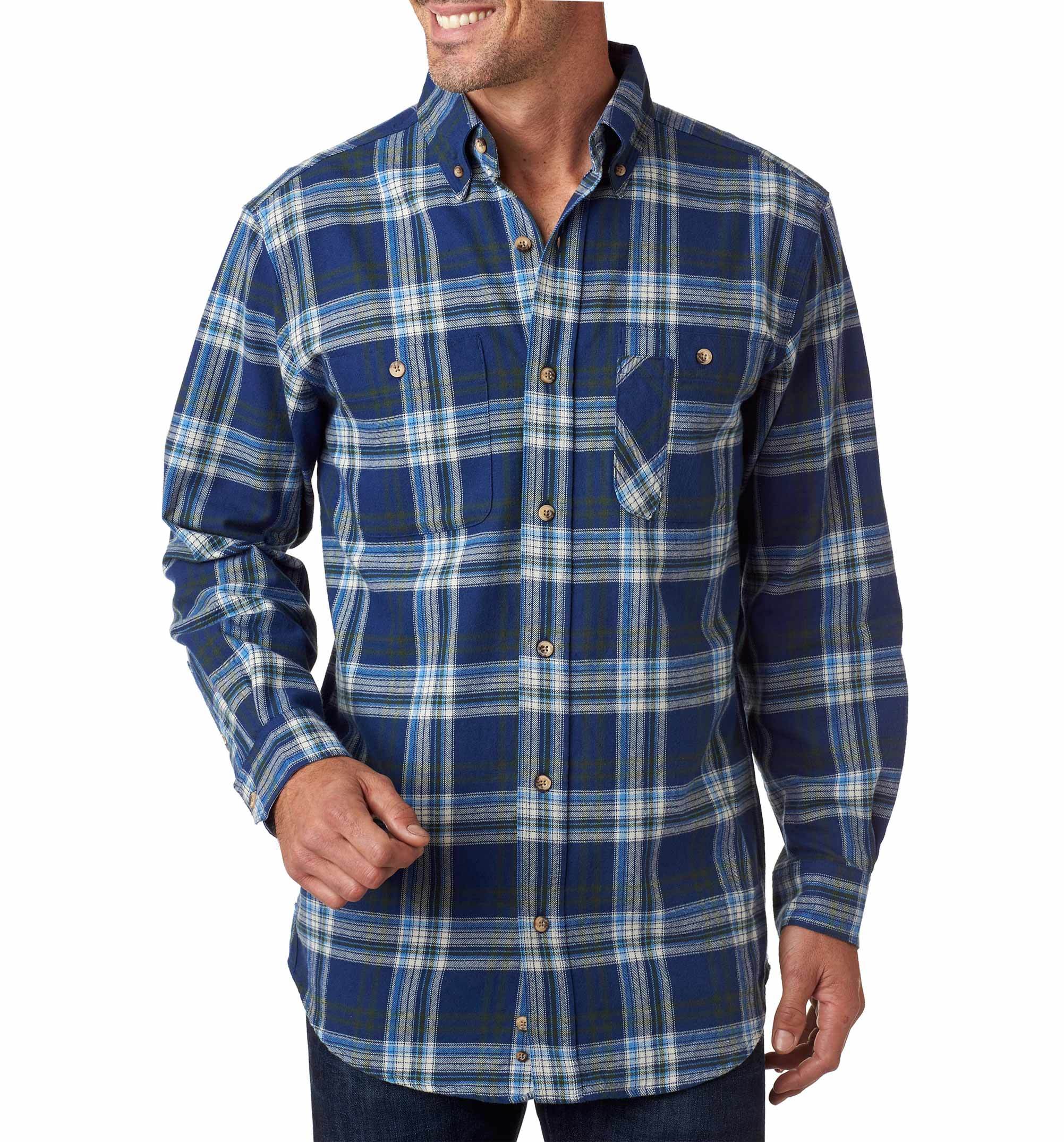d1960de17 Backpacker Mens Yarn-Dyed Flannel Shirt - Design Online or Buy It Blank