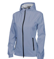 Custom Charles River Womens Watertown Rain Jacket