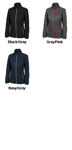 Womens Lithium Quilted Jacket by Charles River Apparel - All Colors