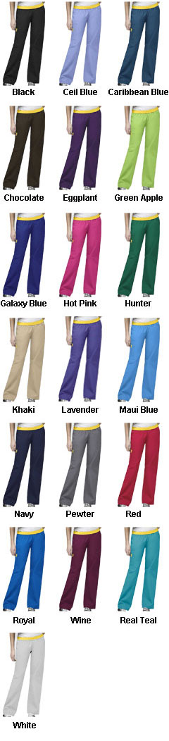 Ladies Quebec Full Elastic Cargo Pant by WonderWink® - All Colors