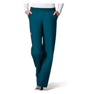 Custom Ladies Quebec Full Elastic Cargo Pant by WonderWink®