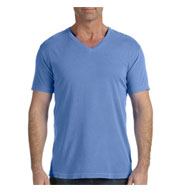 Custom Comfort Colors Adult V-Neck Tee