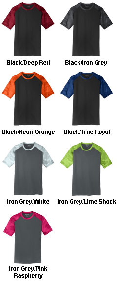 Youth CamoHex Colorblock Tee - All Colors