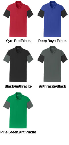 Nike Golf Dri-FIT Sleeve Colorblock Polo - All Colors