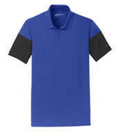 Custom Nike Golf Mens Dri-FIT Sleeve Colorblock Polo