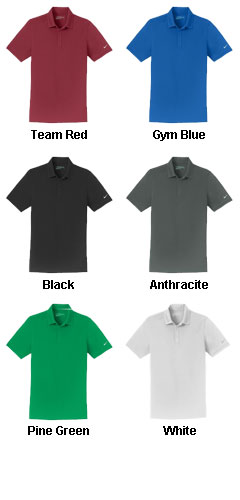 Nike Golf Dri-FIT Mens Smooth Performance Polo - All Colors