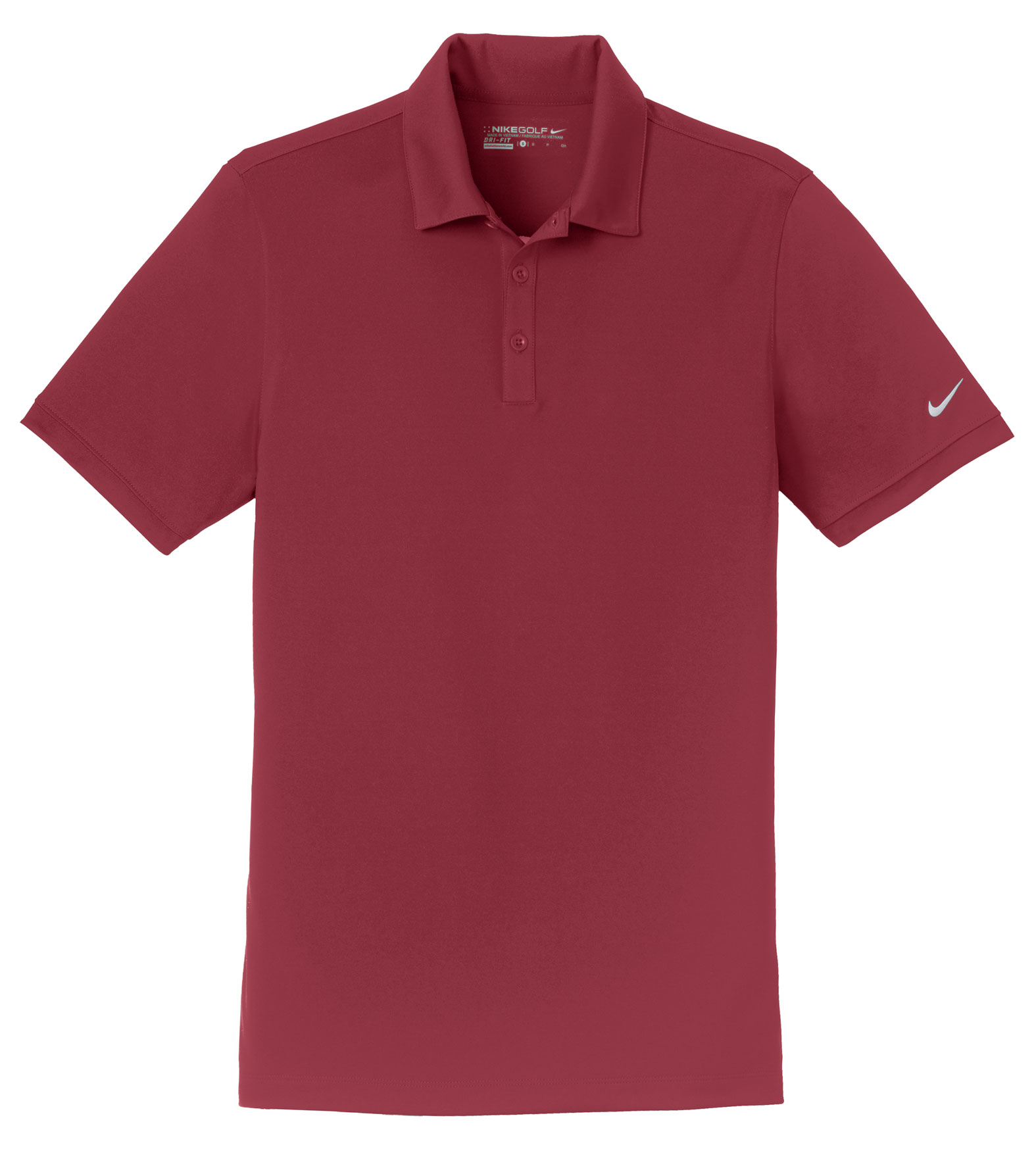 Nike Golf Mens Dri-FIT Smooth Performance Polo
