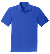 Custom Eddie Bauer® Mens Cotton Pique Polo