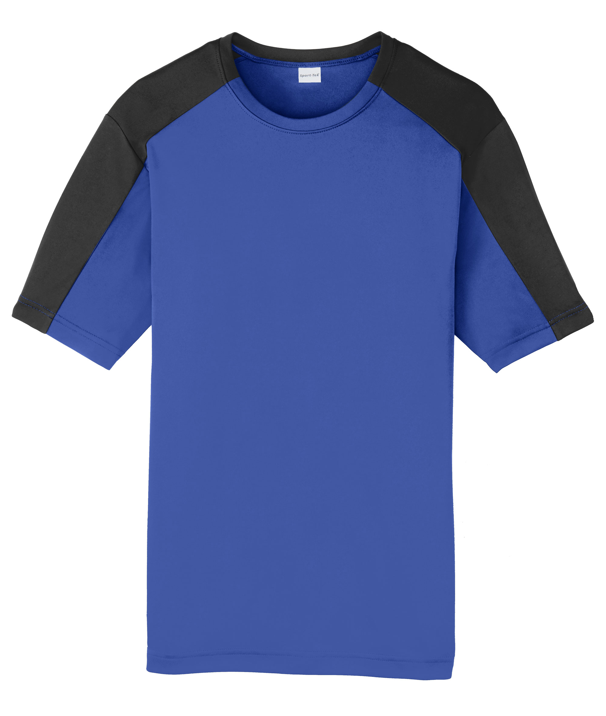 Adult Competitor Sleeve-Blocked Tee