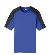 Custom Sport-Tek® Youth PosiCharge® Competitor™ Sleeve-Blocked Tee