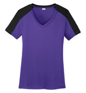 Custom Ladies PosiCharge® Competitor™ V-Neck Tee