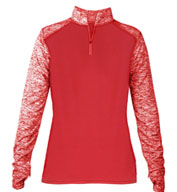Custom Badger Ladies Sport Blend 1/4 Zip