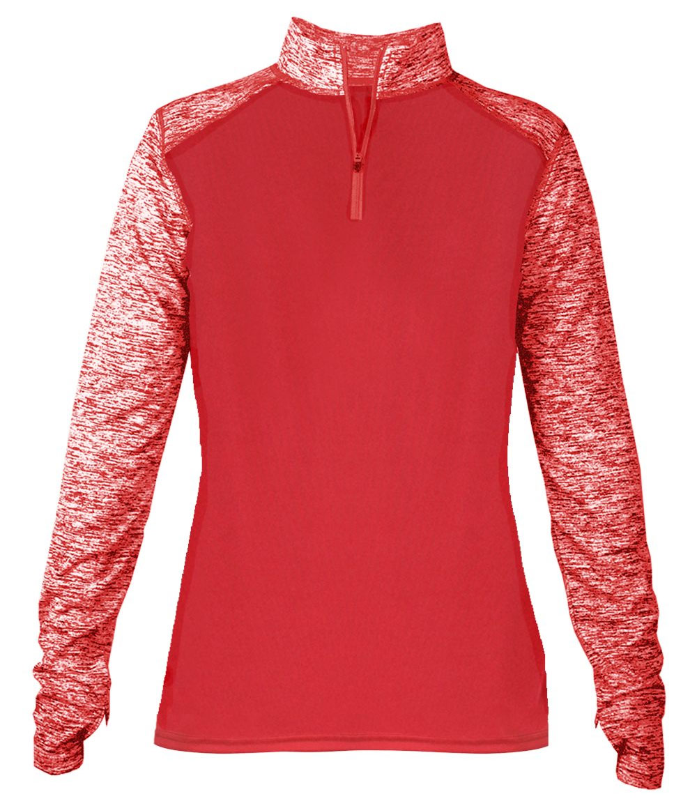 Badger Ladies Sport Blend 1/4 Zip