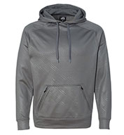Custom J. America Mens Volt Poly Hooded Pullover Sweatshirt