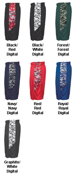 Youth Digital Panel Short  - All Colors