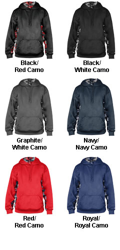 Camo C/B Hood - All Colors
