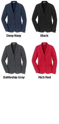 Port Authority Ladies Knit Blazer - All Colors