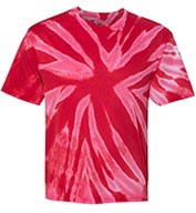 Custom Tie-Dye Dry Performance T-Shirt