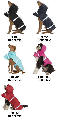 New Englander Doggie Rain Jacket - All Colors