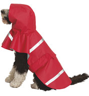 Custom Doggie New Englander Rain Jacket by Charles River