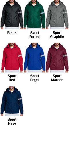Mens Boost All Season Jacket with Fleece Lining - All Colors
