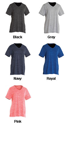 Womens Space Dye Performance Tee - All Colors