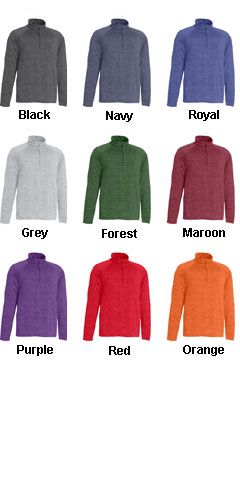Mens Space Dye Performance Pullover - All Colors