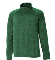 Custom Charles River Mens Space Dye Performance Pullover