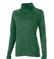 Custom Charles River Womens Space Dye Performance Pullover