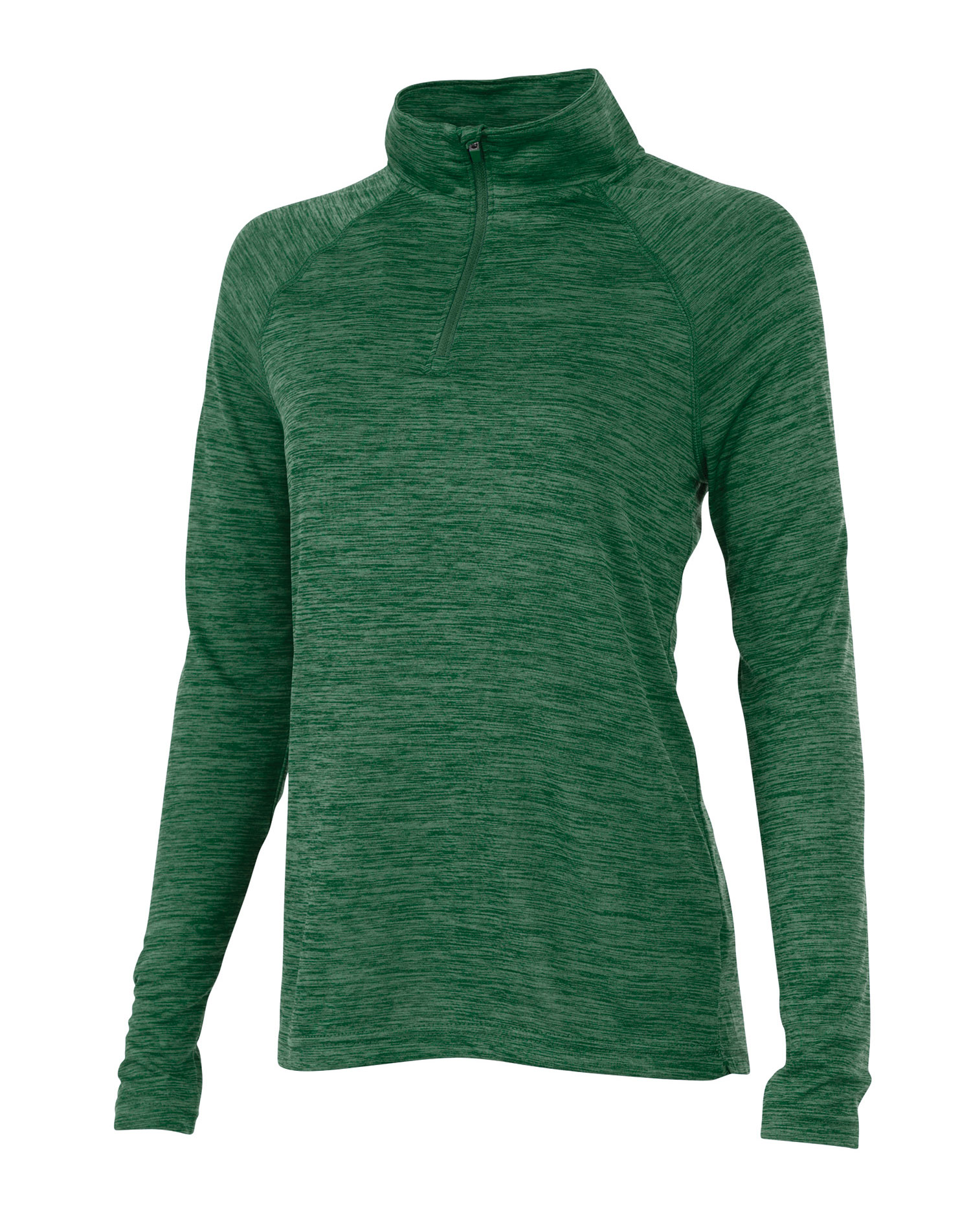 Womens Space Dye Performance Pullover by Charles River