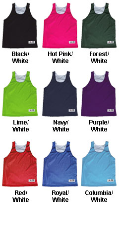 Ladies Lacrosse Reversible Racerback Jersey - All Colors