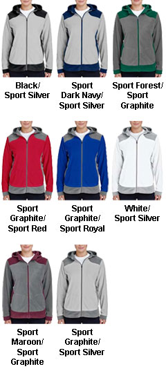 Ladies Rally Colorblock Microfleece Jacket - All Colors
